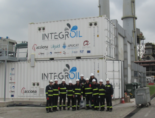The INTEGROIL pilot plant has started its operation in the downstream scenario